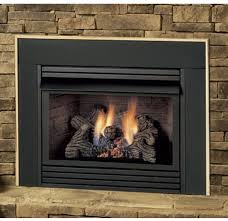 wood burning fireplace fireplaces gas log insert for existing fireplace how to install a gas fireplace insert in