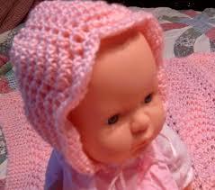 Baby Bonnet Knitting Pattern Custom Decoration