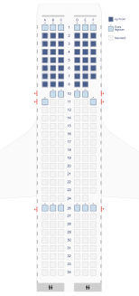 Airbus A319 Seating Chart Seat Maps