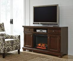 ashley furniture fireplace tv stand.  Stand Click To Enlarge Loading Ashley Furniture Porter Brown  XL TV Stand With Fireplace Throughout Tv E