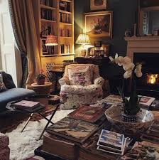 English Cottage Interior Design Cozy Maximalist Home Cottage Living Rooms Cozy House