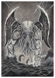 Cthulhu Drawing At Paintingvalleycom Explore Collection Of