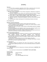 Resume For Mba Application Template Free Resume Example And