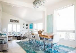 dining beach house area rugs best house design intended for idea 1