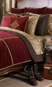 red and leopard print living room comforter bedroom ideas accessories zebra site zen idolza sheets