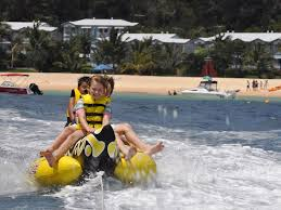 Image result for banana boat ride