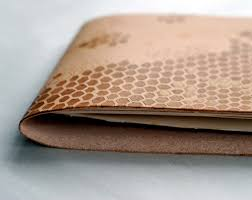 this journal is quick and easy and it doesn t have to stop there i would love to see leather clutches tech sleeves or belts with this pattern as well