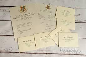 Printable Hogwarts Letter 3