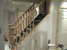 basement stairs railing. Basement Stair Railing Removable Ideas Stairs P