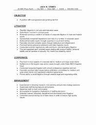 Sample Lawyer Resume New Lawyer Resume Sample Fresh Lawyer Resume Sample New Lawyer 64