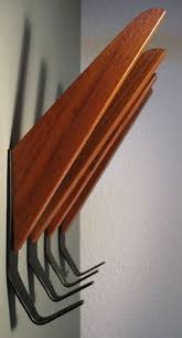 Atomic Coat Rack Set of 100 Teak Mid Century Modern Coat Hangers String Jacobsen Style 44