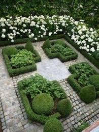 Small Picture white hydrangea box hedge garden path Google Search KICKASS