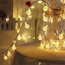 Buy AtneP <b>Balls String Lights</b> for Home Decoration Party Festival ...