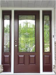 entry doors with sidelights exterior steel front door