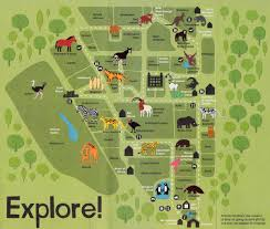 zoo map template. Contemporary Map New Map With Added Animals Throughout Zoo Template E