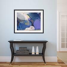rectangular abstract framed print purple white cream blue green turquoise hallway foyer entranceway colorful modern decor modern artwork for  on large framed wall art uk with abstract framed wall art rectangle 43 pinterest wall wood