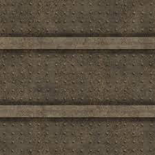 old metal wall panel