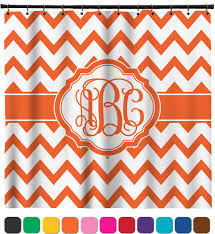 Concept Chevron Shower Curtains Curtain Personalized O In Innovation Design