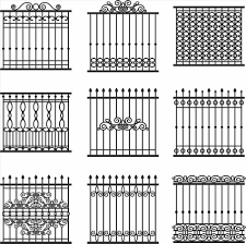 modern metal fence design. Home Design: Strange Iron Fence Designs Wrought Fencing Arresting From Modern Metal Design P