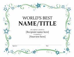 Best Certificate Templates Award Templates Certificates Office Templates
