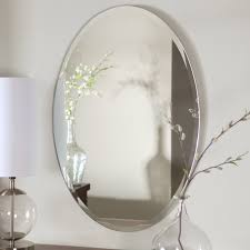 Frameless Mirror For Bathroom Bathroom Mirror