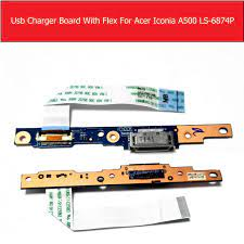 Chính Hãng Sạc Bảng Flex Cho Máy Tính Bảng Acer Iconia A500 LS 6874P Sạc Máy  Tính Bảng Dock Bảng Cáp LS 6874P Kiểm Nghiệm Tốt Màn hình LCD & màn hình máy
