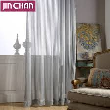 Sheer Curtains For Living Room Online Buy Wholesale Grey Sheer Curtains From China Grey Sheer
