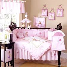 girls nursery bedding set baby girl bedding sets luxury boutique french pink white pertaining to bed