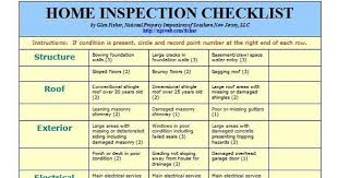 Home Inspection Checklist Amazing Checklist For A Home Inspection Engneeuforicco