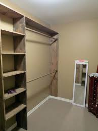 bedroom free standing closet systems walk in organizer wood best shelving diy