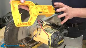 how to install a switch kit on a dewalt dw705 miter saw part how to install a switch kit on a dewalt dw705 miter saw part 5140112 17