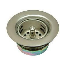 UNHO 60CM Bath Overflow PopUp Waste Stainless Steel Cover Zinc Stainless Steel Kitchen Sink Basket Strainer