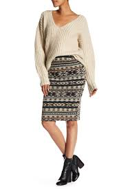 Aztec Design Skirt Aztec Design Pencil Skirt Products Aztec Designs Skirts
