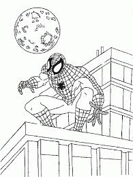 Small Picture Spiderman Coloring Pages Coloringpages1001com