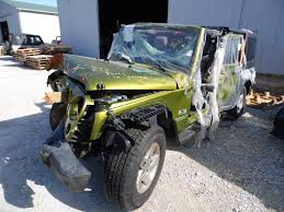 this is a 2008 jeep wrangler x unlimited 3 8l at 4 door green parts vehicle
