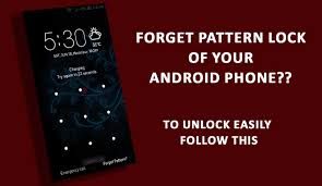 How To Unlock Phone Pattern