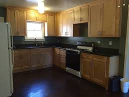 paint color suggestions maple cabinets