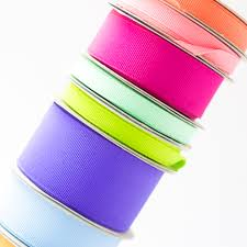 Offray Grosgrain Ribbon Color Chart Solid Grosgrain Ribbon Offray Ribbon And Bows Oh My