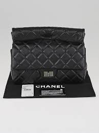 Chanel Black Quilted Lambskin Leather Medium Roll Clutch Bag ... & ... Chanel Black Quilted Lambskin Leather Medium Roll Clutch Bag Adamdwight.com