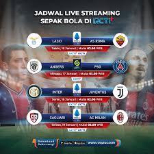 Cagliari vs AC Milan Live RCTI ya gengs ...