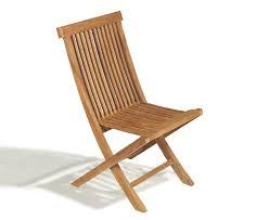 teak folding garden chair