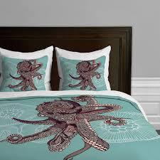 amazoncom deny designs valentina ramos octopus bloom duvet cover
