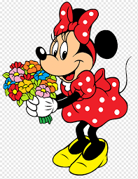 Mickey Mouse Minnie Mouse Drawing, surround, mouse, fictional Character,  flower png