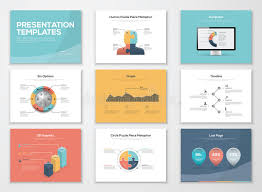 business presentation templates business presentation templates and infographics vector elements