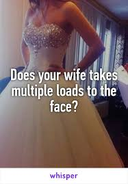 Wife taking several loads