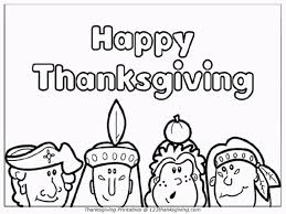 Free Thanksgiving Coloring Pages With Book Printable Also Kids