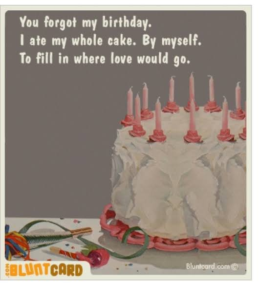 lonely birthday quotes for myself