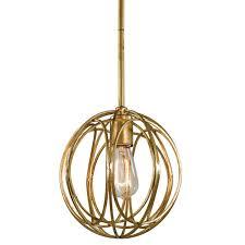 regina andrew ofelia chandelier small gold leaf