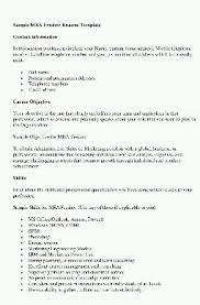 career objective for mba resumes mba resume objective statement rome fontanacountryinn com