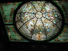 richard h driehaus museum stained glass dome ceiling dreihaus museum chicago